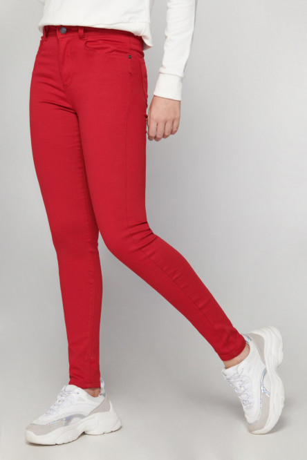 JEGGINGS UNICOLOR