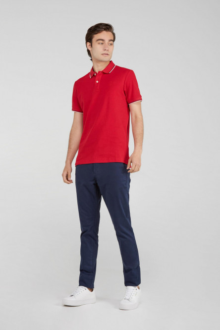 CAMISETA POLO ROJA