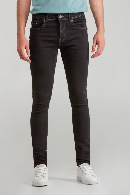 PANTALON SKINNY FIT UNICOLOR