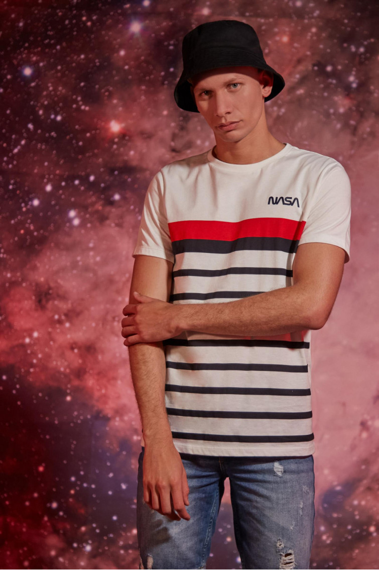 CAMISETA NASA RAYAS