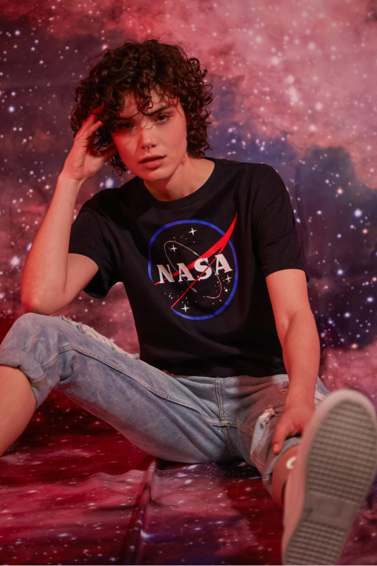 CAMISETA NASA CORTA