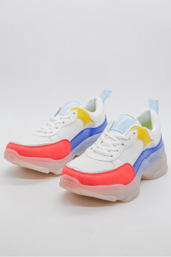 TENIS CHUNKY TRICOLOR