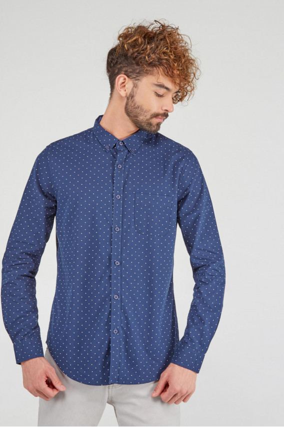CAMISA BUTTON DOWN MOTIVO