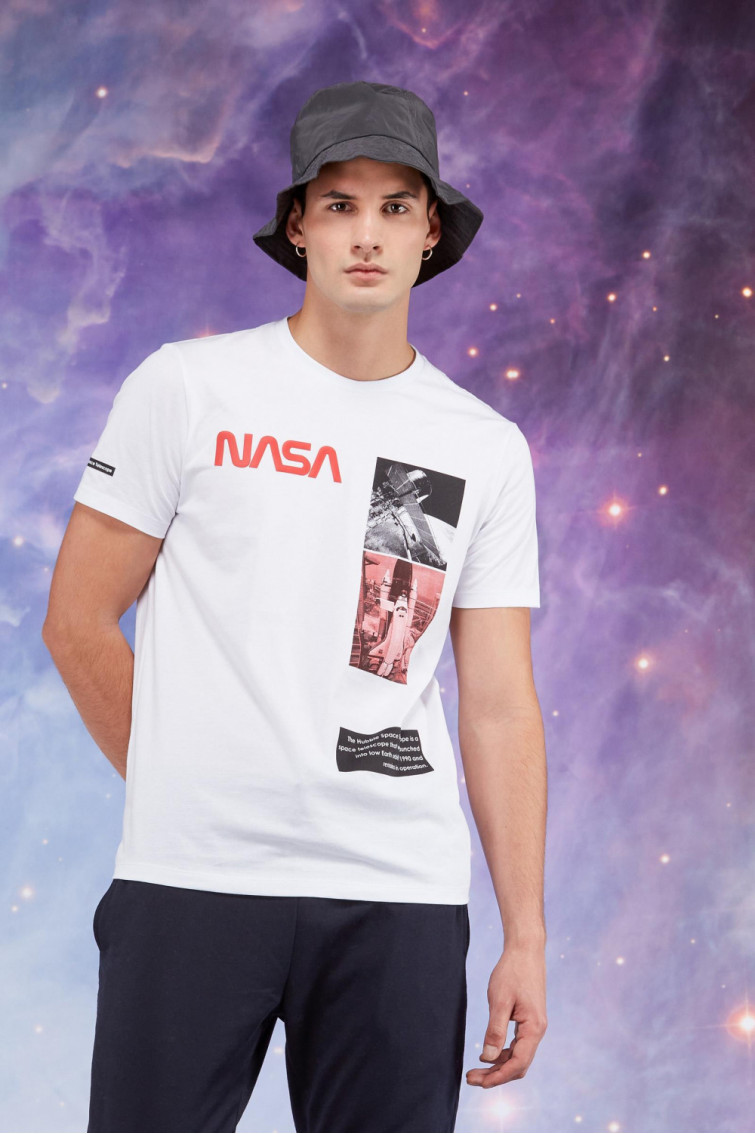 CAMISETA NASA MANGA CORTA