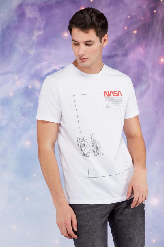 CAMISETA NASA TEXTO