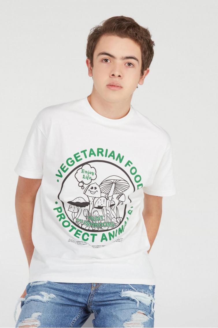 CAMISETA VEGETARIAN FOOD
