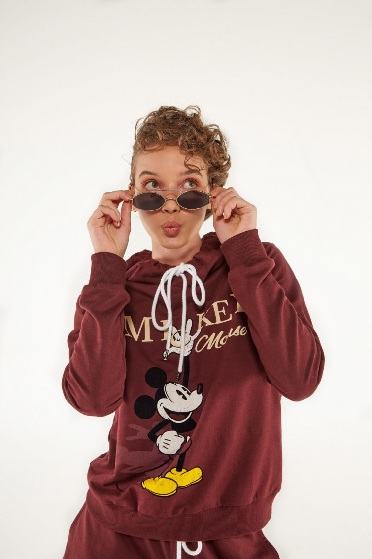 BUZO ESTAMPADO MICKEY MOUSE