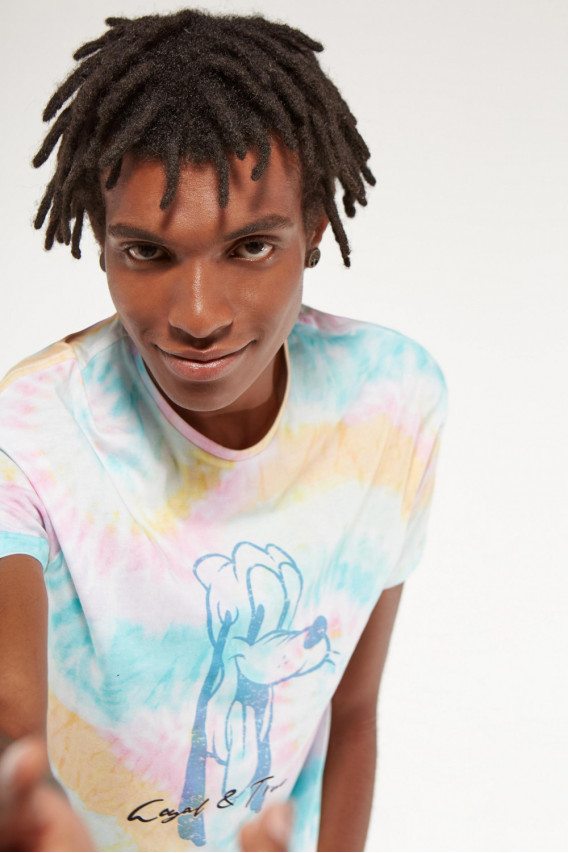 CAMISETA PLUTO TIE DYE COLORS