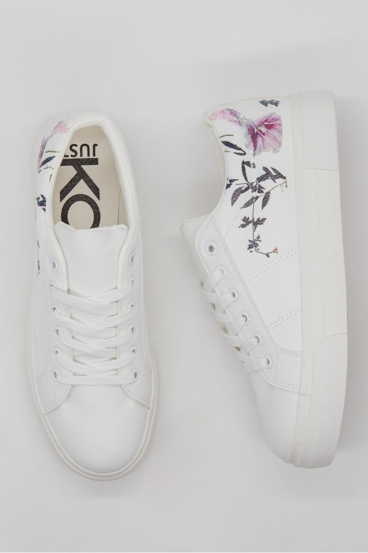 TENIS CASUALES PRINT FLORAL