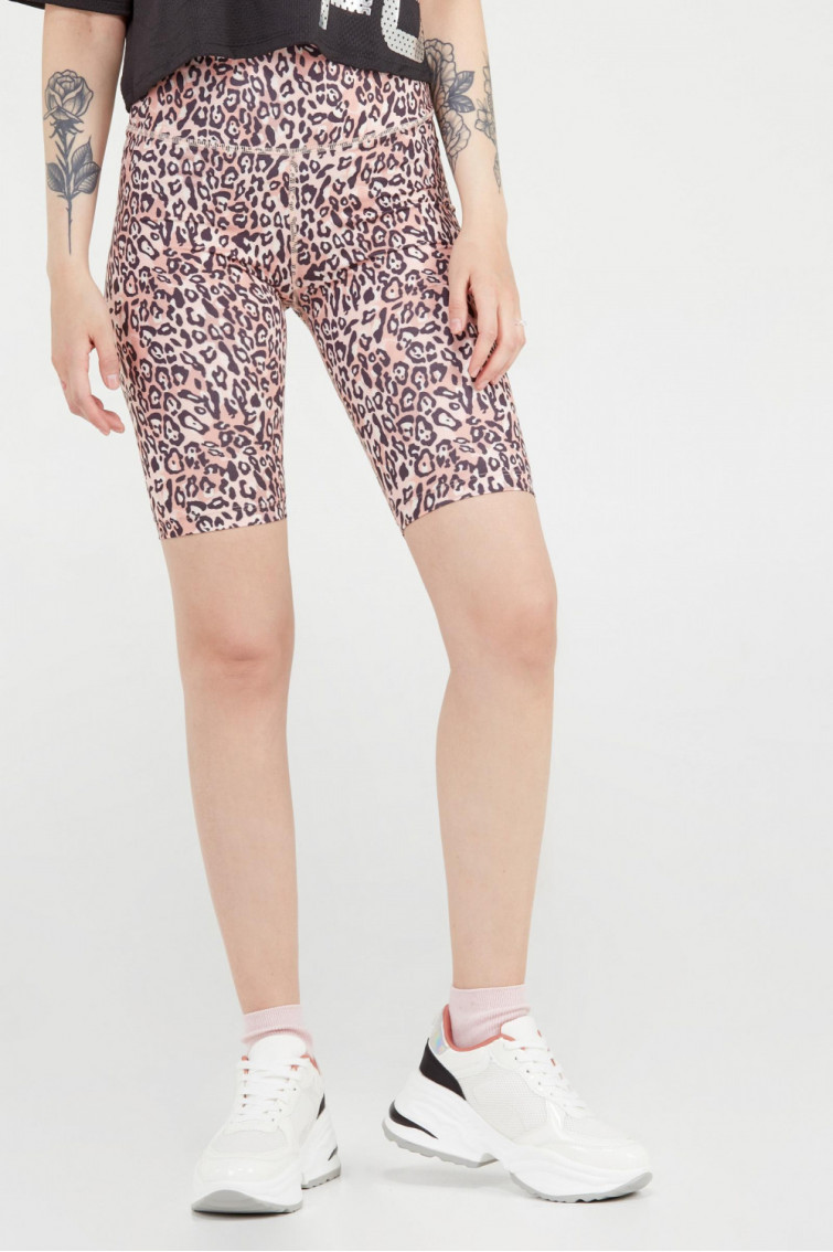 BIKER SHORT ESTAMPADO ANIMAL