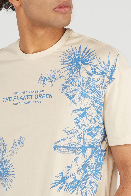 CAMISETA PLANET GREEN