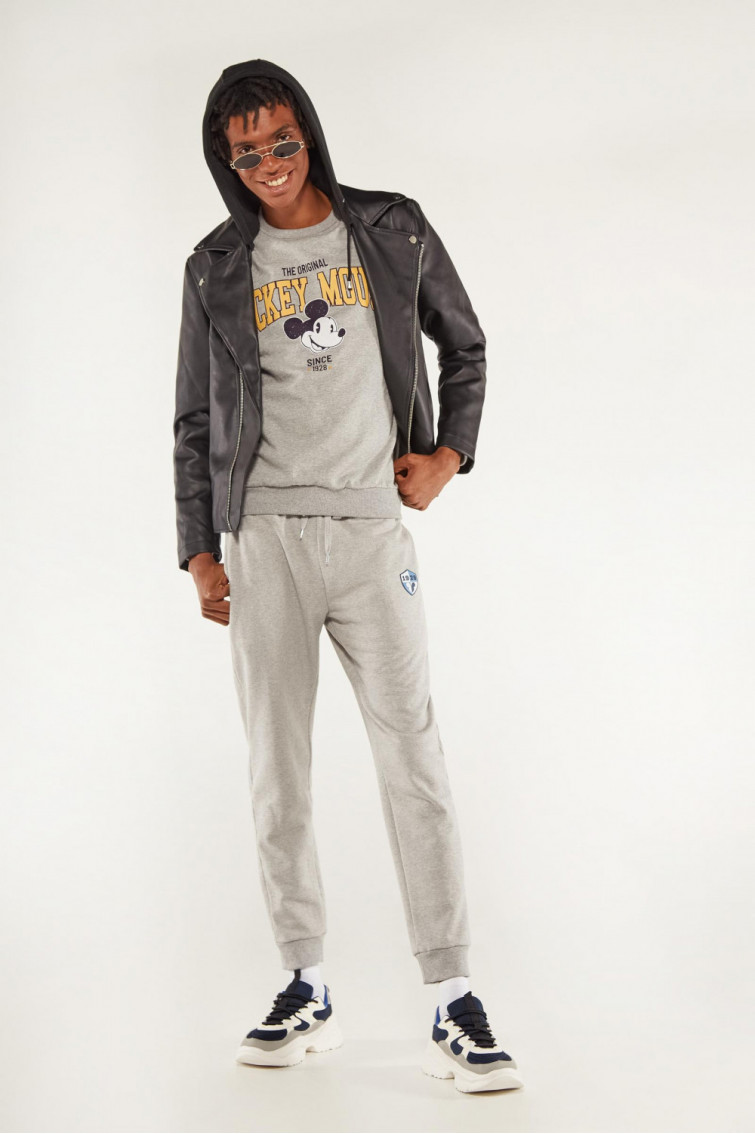 JOGGER MICKEY MOUSE GRIS