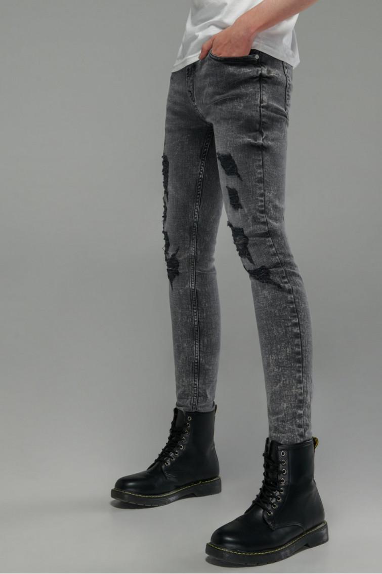 Jean super skinny rotos