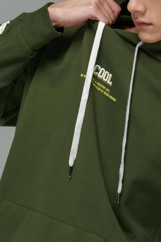 Buzo termal manga larga con capota
