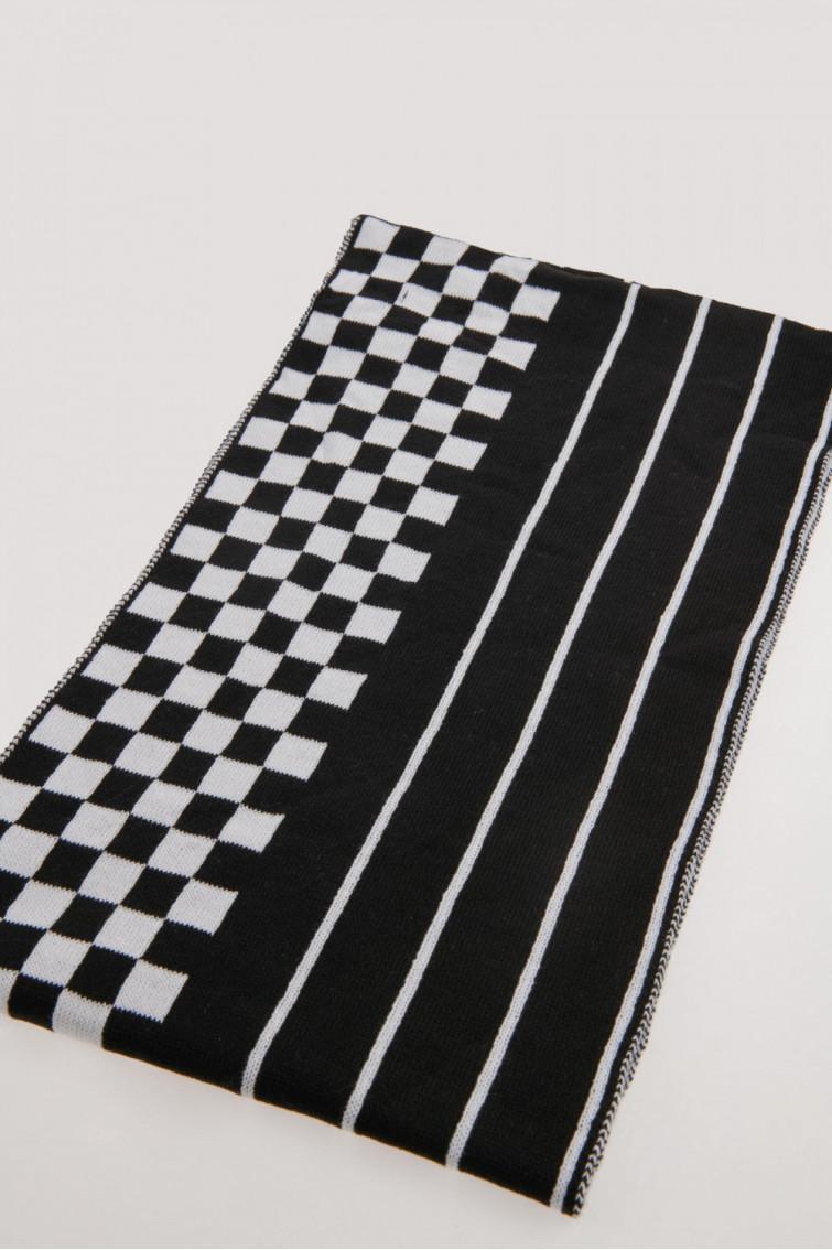 Bufanda combinacion de color