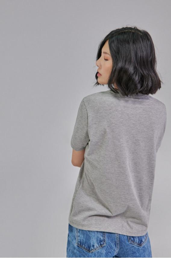 Camiseta estampada manga corta Minnie
