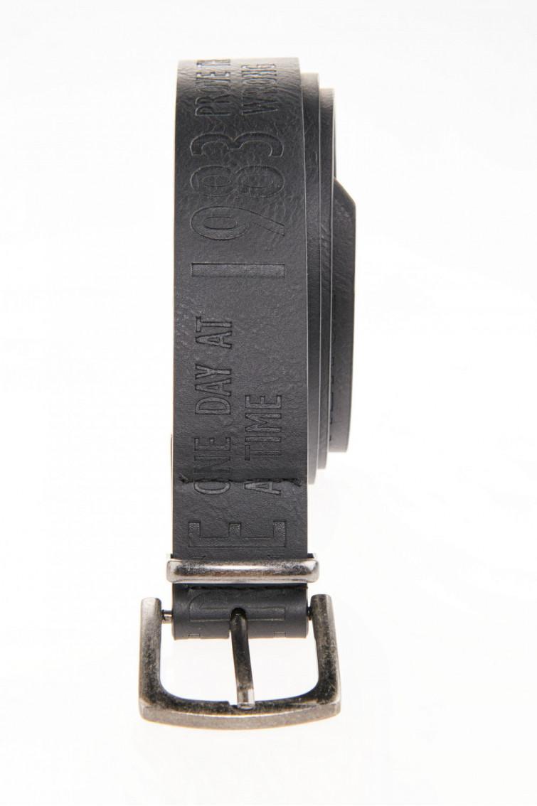 Cinturón hebilla metalica