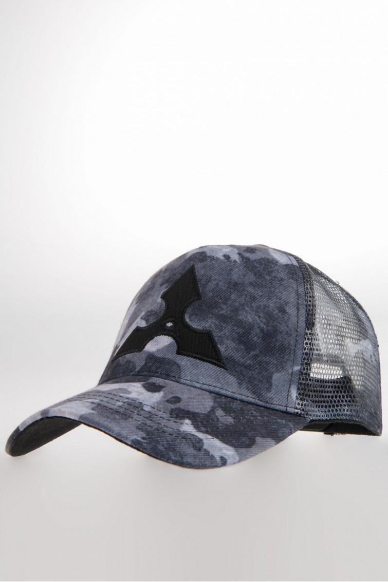 Gorra tela estampada