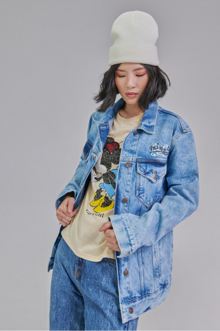 Chaqueta denim Minnie Mouse