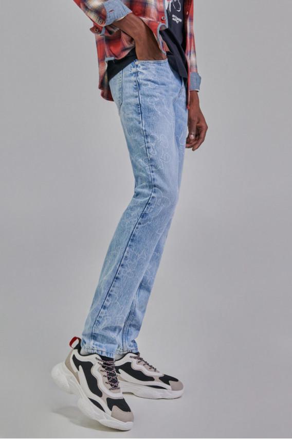Jean skinny Mickey