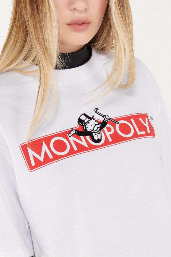Camiseta manga corta Monopolio.