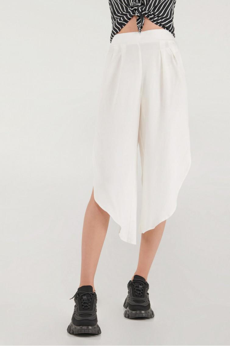 Pantalón culotte bota abierta