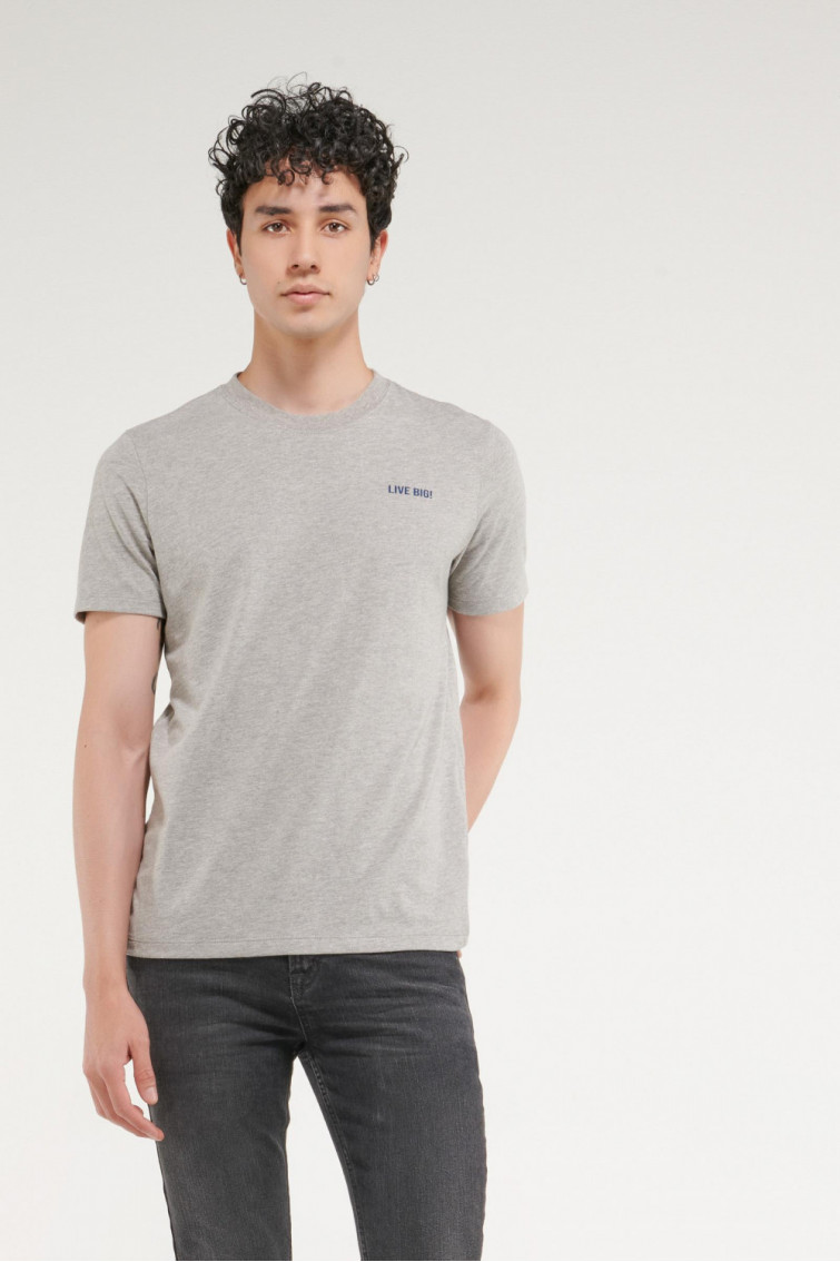 Camiseta estampada manga corta