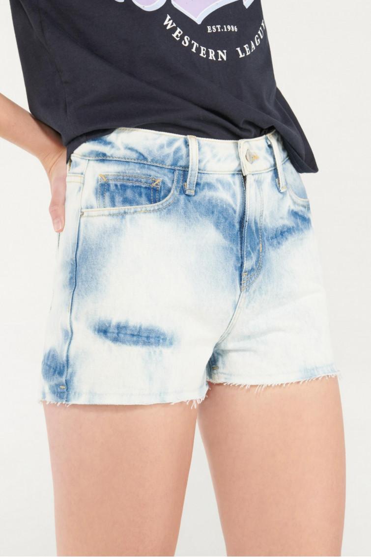 Short de jean con bolsillos