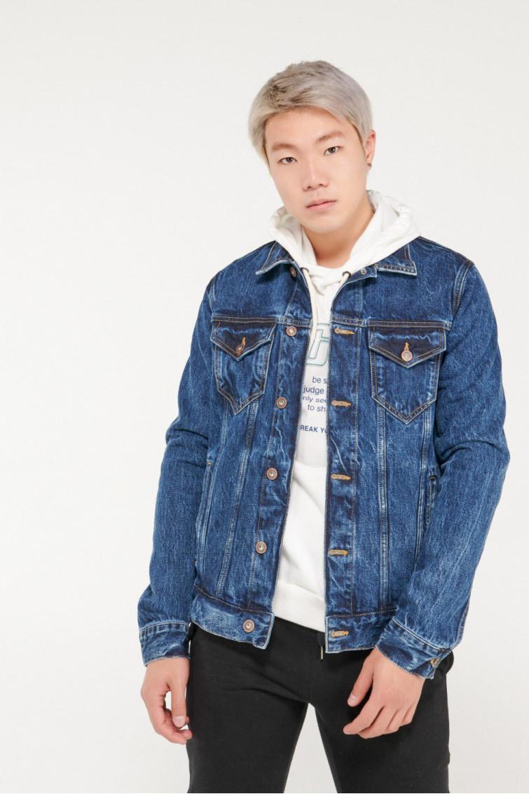 Chaqueta jean slim