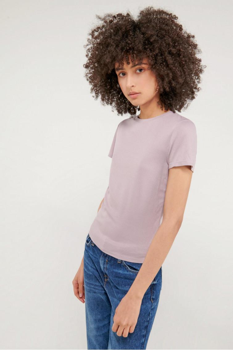 Camiseta básica, manga corta
