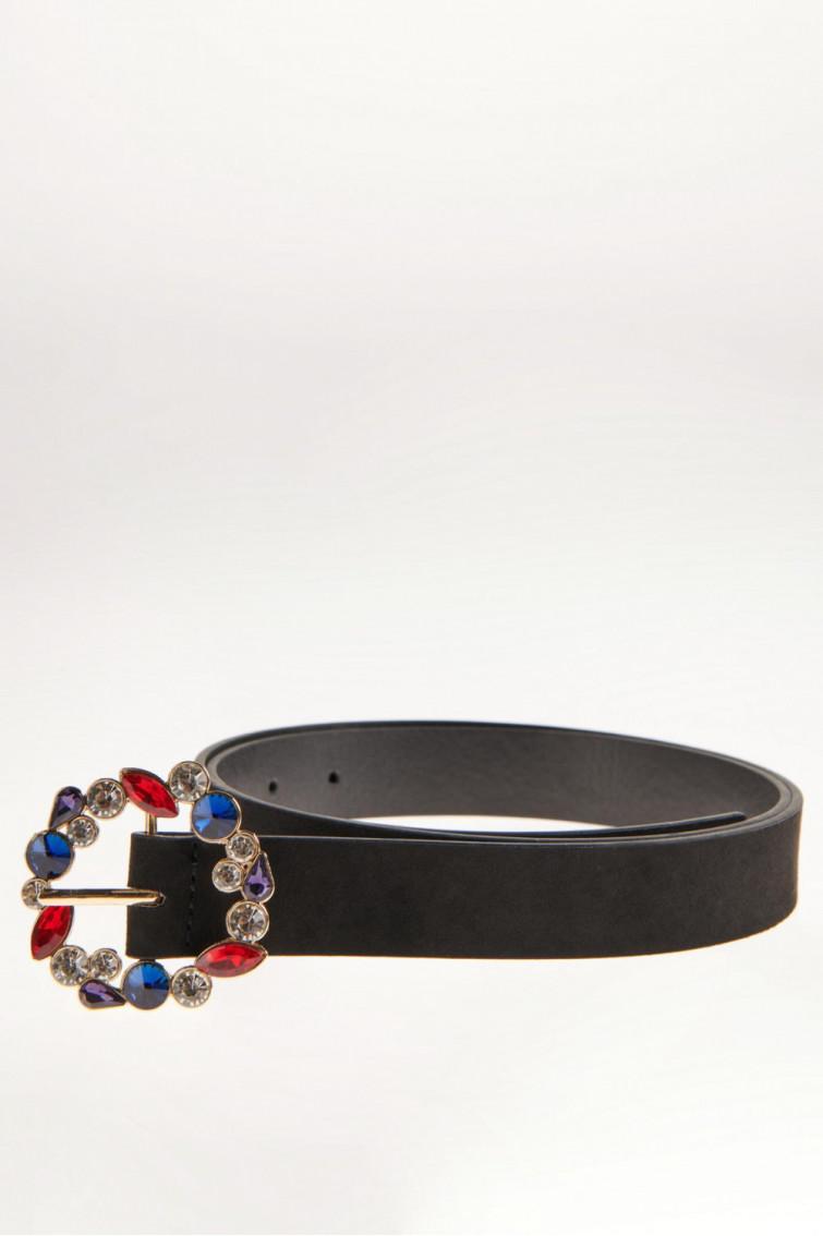 Cinturon hebilla con piedras
