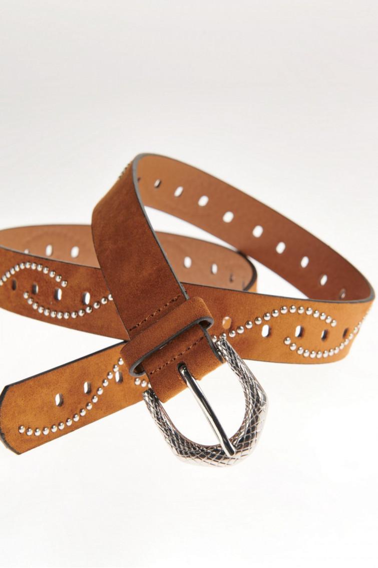 Cinturon hebilla metalica