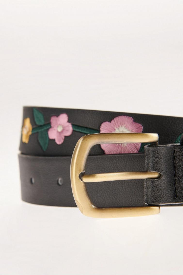 Cinturon con doble hebilla