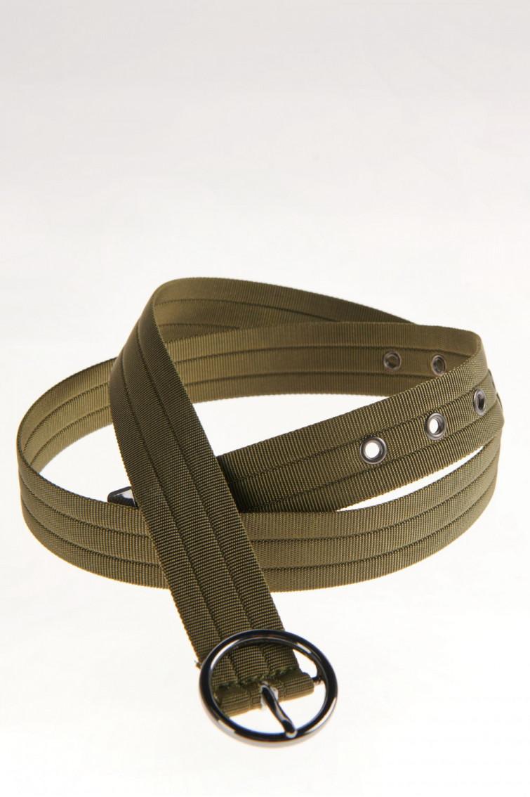 Cinturon hebilla circular