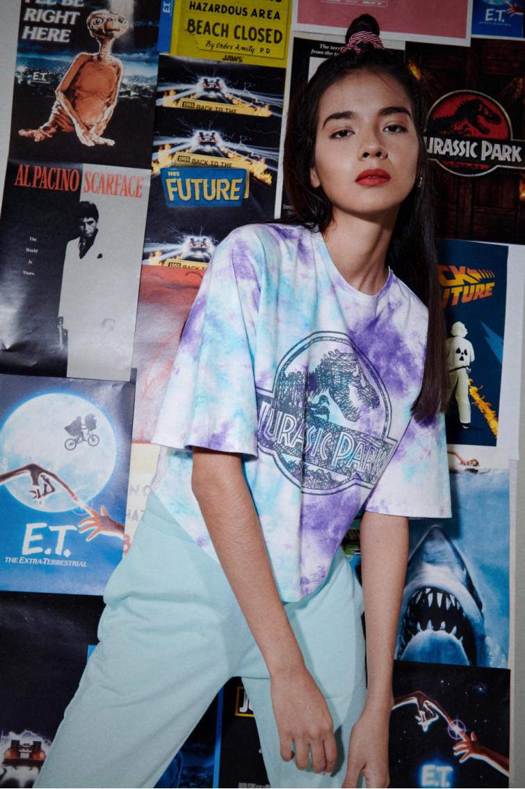 Camiseta manga corta licencia Universal, Jurassic Park.