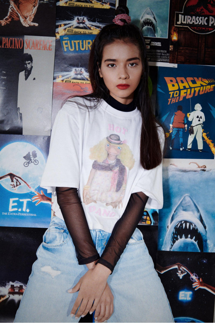 Camiseta estampada manga corta de E.T.