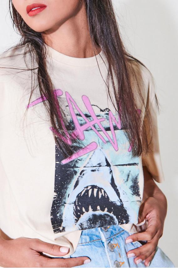 Camiseta manga corta Tiburón.
