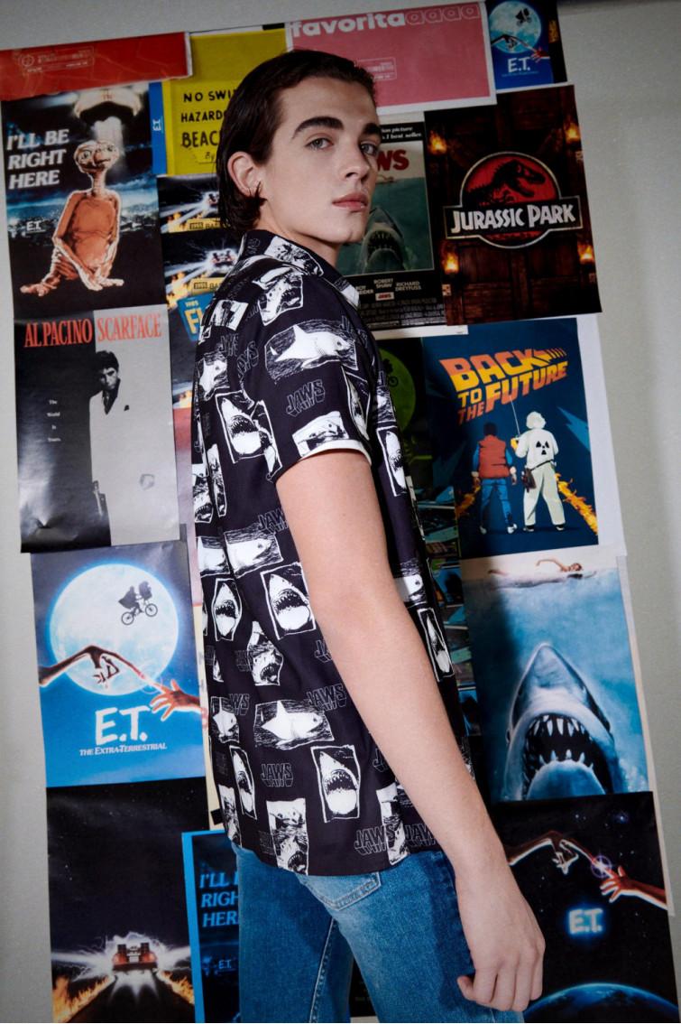 Camisa estampada Jurassic Park