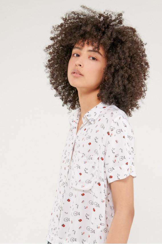 Blusa estampada