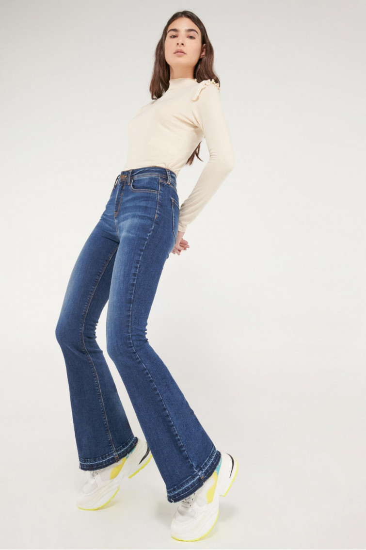 Jean flare fit