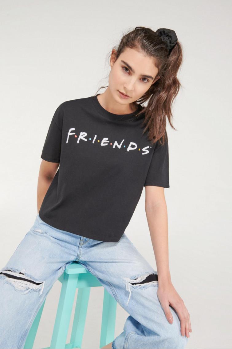 Camiseta manga corta licencia Warner, Friends.