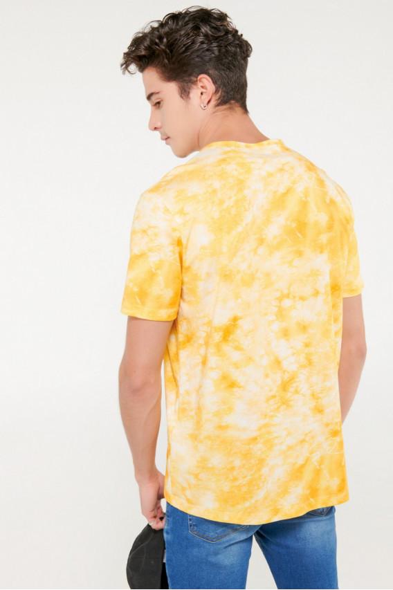 Camiseta moda manga corta con estampado