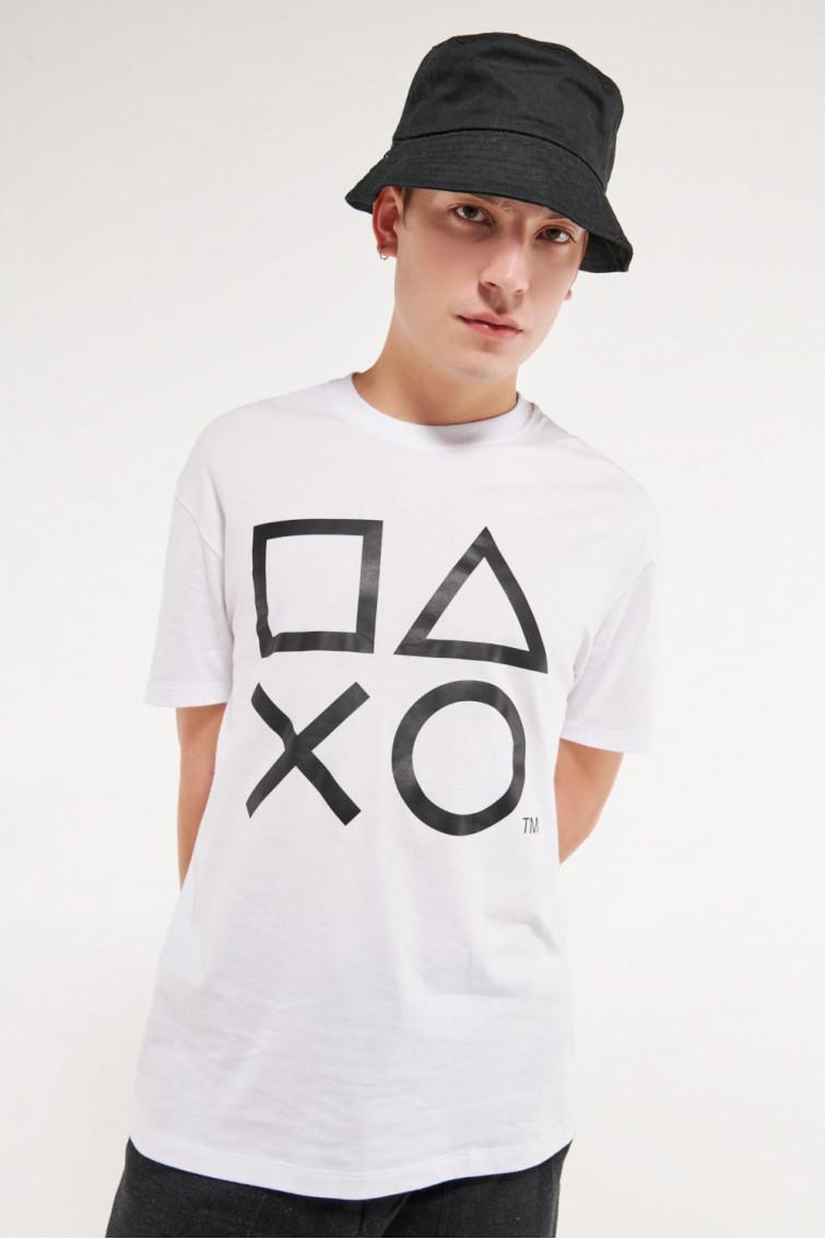 Camiseta manga corta licencia de Play Station