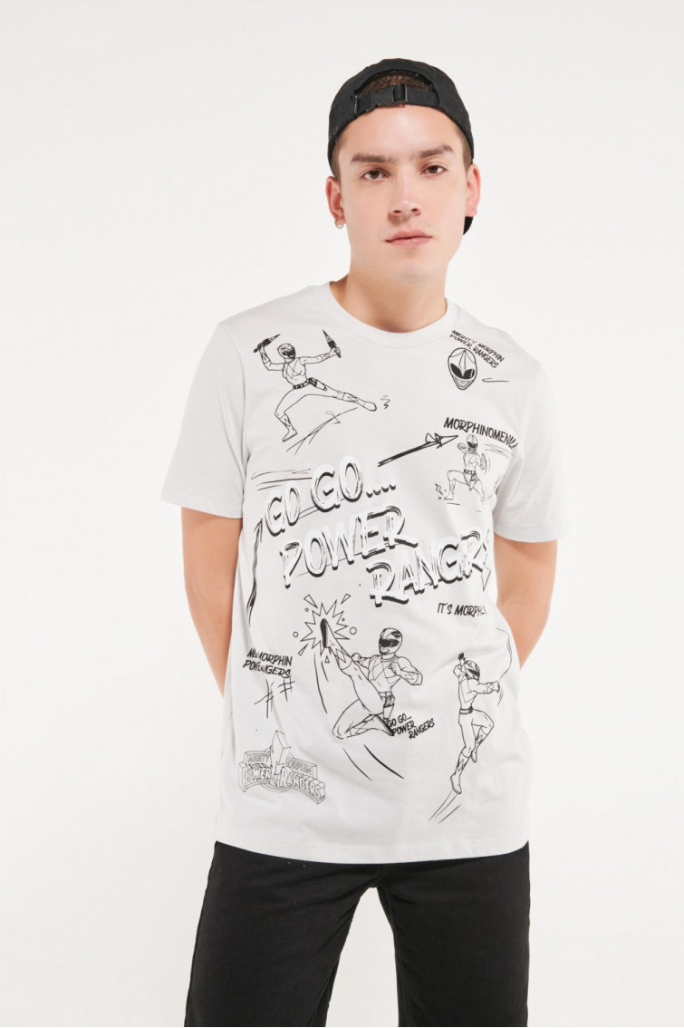 Camiseta manga corta licencia de Hasbro