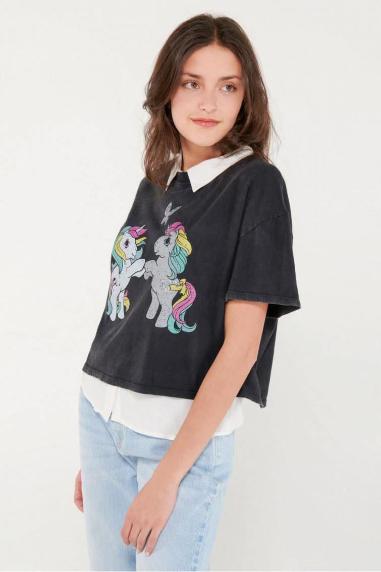 Camiseta manga corta, My Little Ponny.