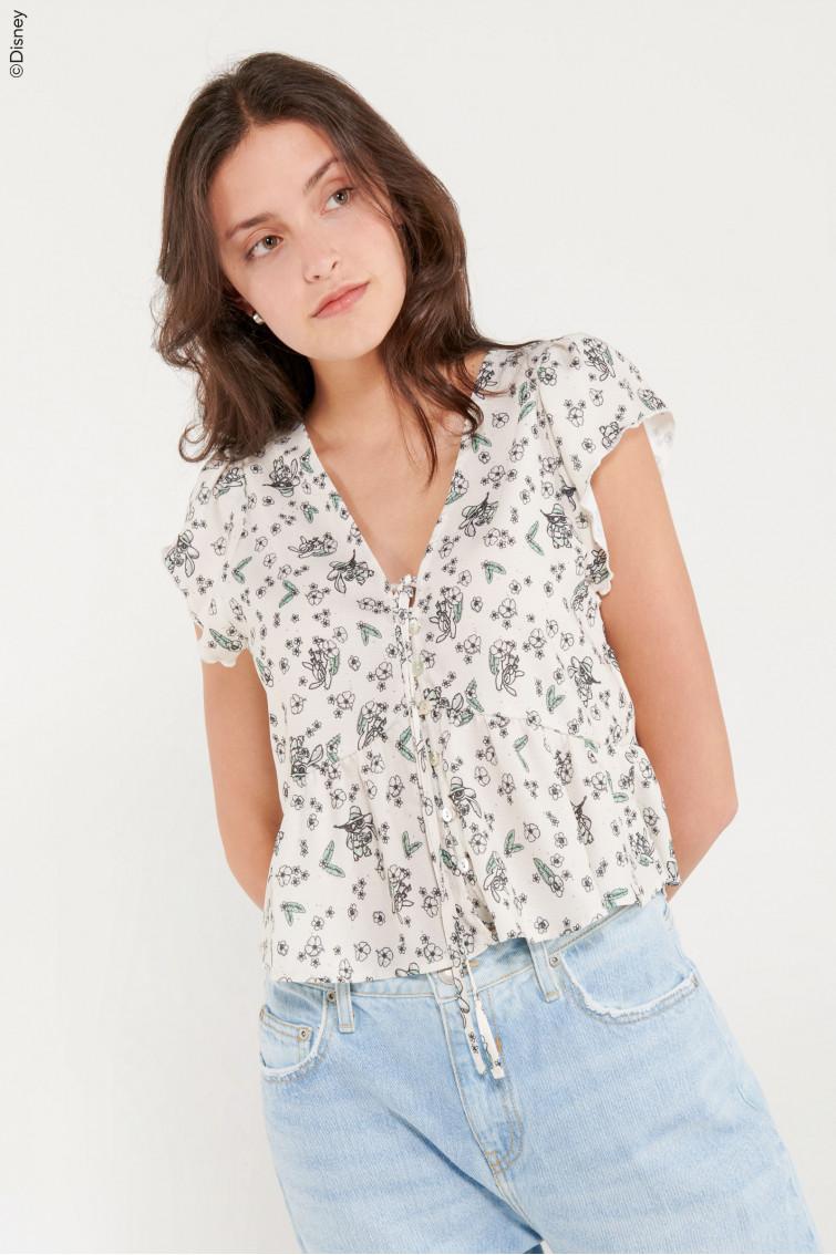 Blusa estampada Lilo & Stitch