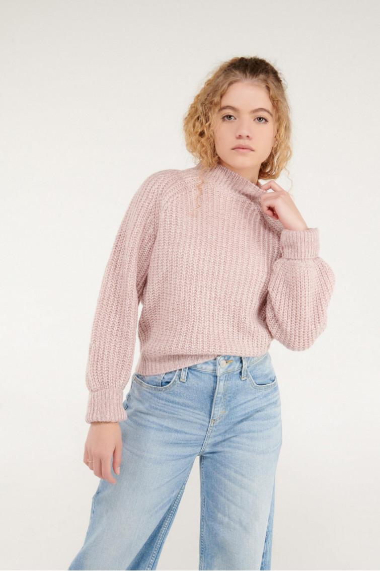 Suéter mangas globo