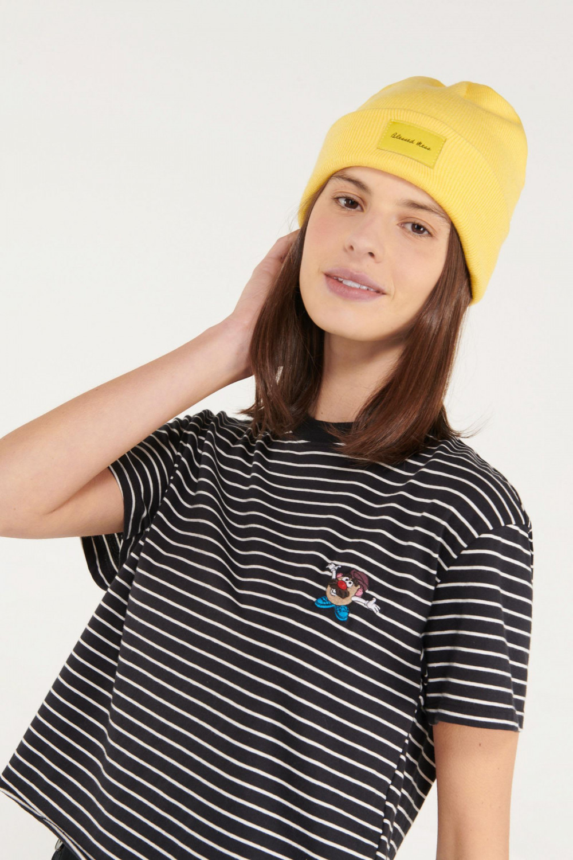 Camiseta manga corta a rayas licencia Hasbro, Mr. Potato Head