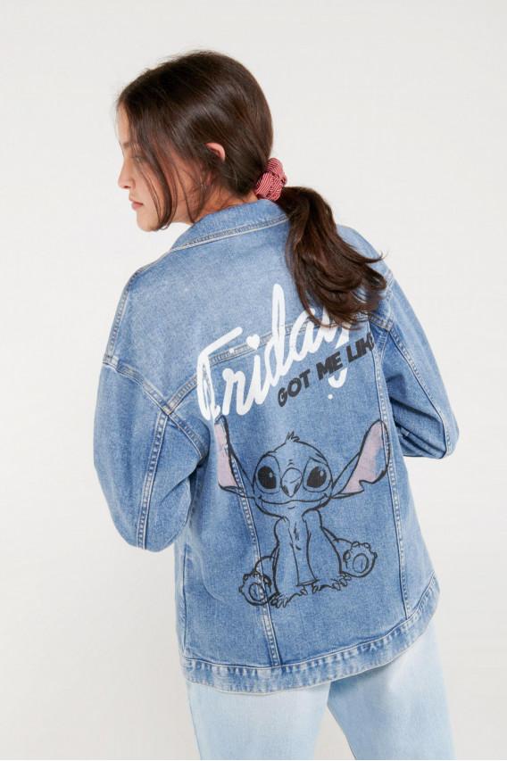 Chaqueta denim Lilo & Stitch