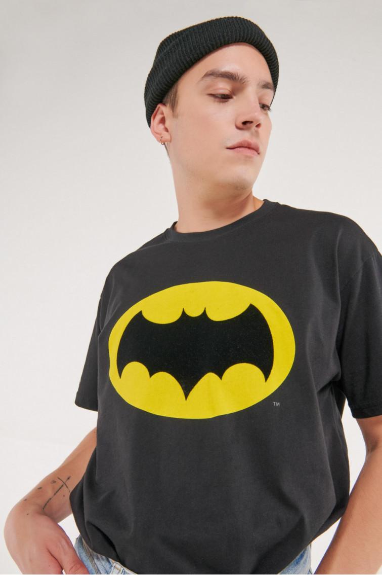Camiseta manga corta estampado Batman